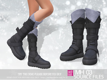 [MH]Full Perm 03 source files Boots