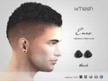 i.mesh - Enzo hair - BLACK
