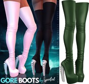 Spoiled - Gore Boots Emerald