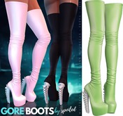 Spoiled - Gore Boots Green