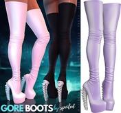 Spoiled - Gore Boots Purple
