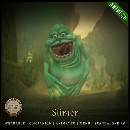 [C] Animesh Follower - Slimer (Wear)