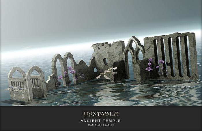 unstable. Ancient Temple