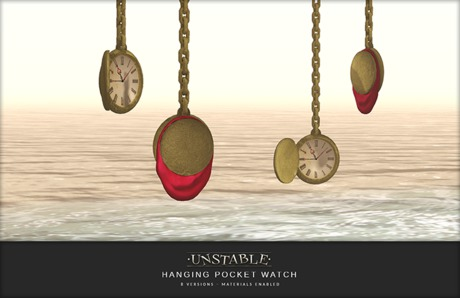 unstable. Hanging Pocket Watch