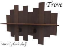 ~Trove~ Varied plank shelf Med