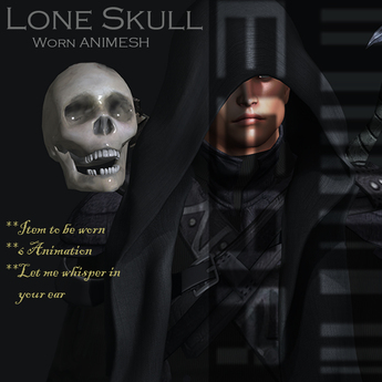 Lone Skull Animesh (worn)