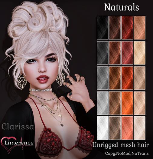 {Limerence} Clarissa hair-Naturals