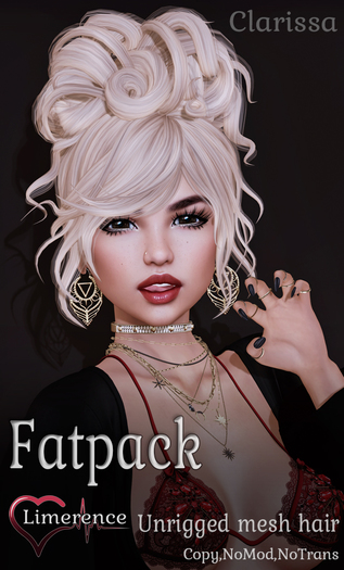{Limerence} Clarissa hair-Fatpack(Mod)
