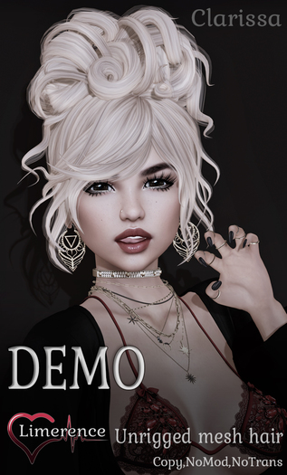 {Limerence} Clarissa hair-DEMO