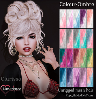 {Limerence} Clarissa hair-Colour Ombre
