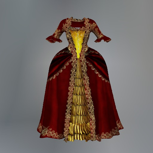 Red Versailles Maitreya Dress