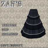 Zan's tiered skirts v2 (7 colors) (50%off)