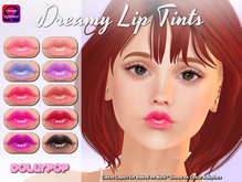 ~Dollypop~ Dreamy Lip Tints  - Baked On Mesh & Omega
