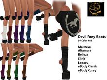 [RG] Devil Pony Boots Fatpack (Box)