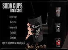 Dark Secrets - Soda Cups Dark Style - Add