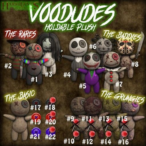 [HL] Voodude #10 - Dirty & Pins (BOX)