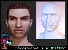 *!*Adam Mesh Head2 Hunter - BOM Bento -