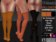 [VANNIES] HALLOWEEN Overkneesocks (HUD + BoM) (Belleza, Maitreya, Signature, Slink, Omega + Classic Avatar)
