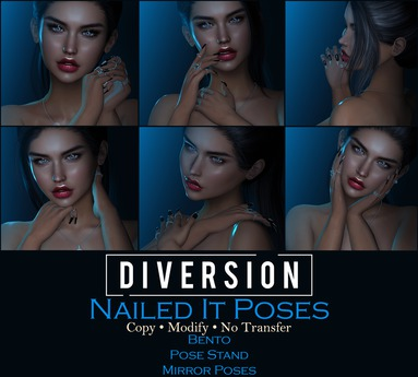 Diversion - Nailed It Poses // Bento