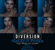 Diversion - Nailed It Poses // Bento