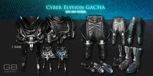 4::GB::Cyber Pants (Belleza) Blue