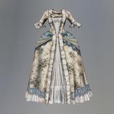 Blue Fragonard Maitreya Dress