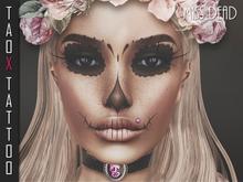 TAOX TaTToo Face Miss Dead & BoM [ Bakes on Mesh ] & Appliers Omega Catwa Lelutka Vista