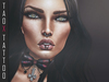 TAOX TaTToo Face Lips Hush Unisex & BoM [ Bakes on Mesh ] & Appliers Omega Catwa Signature Lelutka Aesthetic Slink Vista