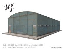 Soy. Old Hanger Warehouse [Hall Kawasaki] addme