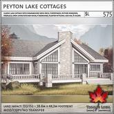 Trompe Loeil - Peyton Lake Cottages V1.1 [mesh]