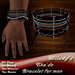 *Milady's* -Sha'do- Men's Bracelet