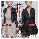 RKKN. Kenna Casual Dress PaleBlue