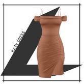 Lowen - Katy Dress [Deep Camel]