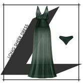 Lowen - Long Sheer Dress [Green]