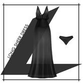 Lowen - Long Sheer Dress [Black]