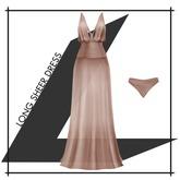 Lowen - Long Sheer Dress [Beige]
