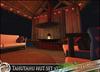 HeadHunter's Island - Tahutahu chill hut v2 - 66+ animations - fully furnished - lounge set / lights / fireplace - MESH