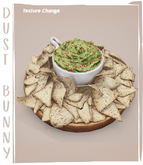 dust bunny . spicy fiesta . chips & guac . boxed