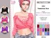 No Cabide :: Vanessa Top  [HUD 15 Models] (wear)
