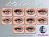 ~Dollypop~ Lotta Lashes Set for Genus - 10 Styles - Tintable