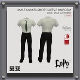 [LoPo RP] Male Snakes Short Sleeved Uniform (Boxed)