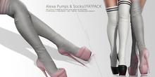 Seniha. Alexa Pumps & Socks // Fatpack