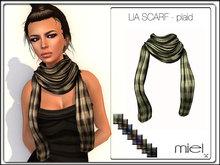 MIEL LIA SCARF - plaid