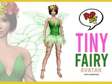 Pop Art Store - Tiny Fairy Avatar w/ Animation