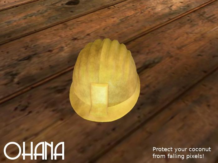 Ohana Hard Hat (WEAR TO UNPACK)