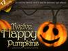 Twelve Happy Pumpkins