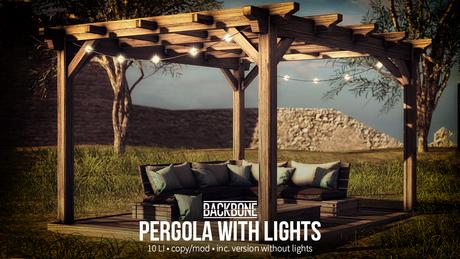BackBone Pergola