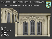 Icaland - Building Set 13 - Window 2