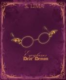 S. Lima - Dear Demon Eyeglasses !GIFT!