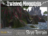 Skye Terrain Textures - Twisted Mountain - 98 Full Perms Textures
